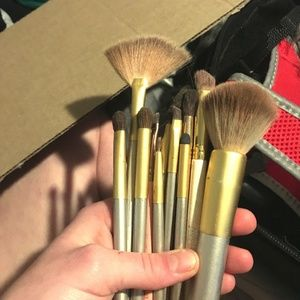 HUGE SALE 20 different make up brushes Mostly1 set